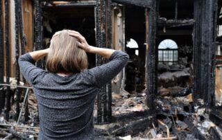 ущерб при пожаре